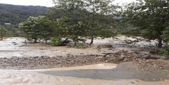 Şiddetli Yağmur Sele Yol Açtı