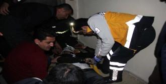 Asansör Boşluğuna Düşen Suriyeli Yaralandı