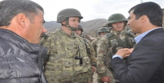 Asker, HDP'lilere İzin Vermedi