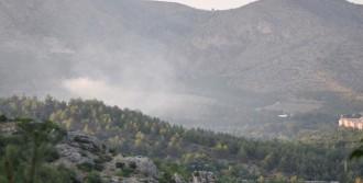 10 Hektarlık Ormanlık Alan Zarar Gördü