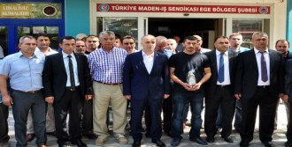 Atalay'dan Soma'ya Bayram Ziyareti