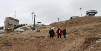 Atlama Kulelerine 600 Fore Kazık Çakıldı