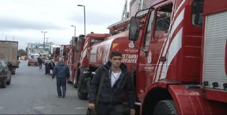 AVM'de Yangın Alarmı