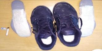 Ayakkabı Tabanlarında Eroinle Tutuklandılar