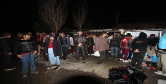Ayvalık'ta 100 Göçmen Yakalandı
