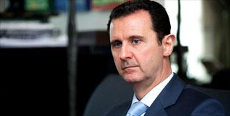 Beşar Esad'dan Şok Açıklama