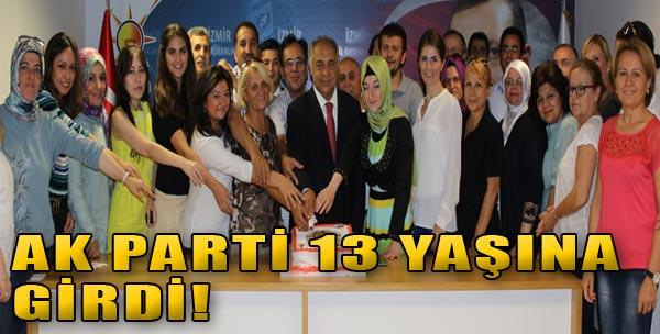 AK Parti 13 Yaşında