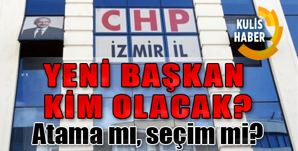 CHP'de O Koltuğa Kim Geçecek