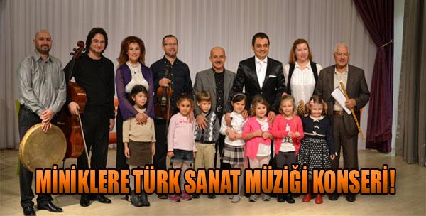 Miniklere Türk Sanat Müziği Konseri