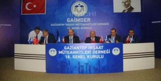 Gaziantep'te Müteahhitler Seçime Gitti
