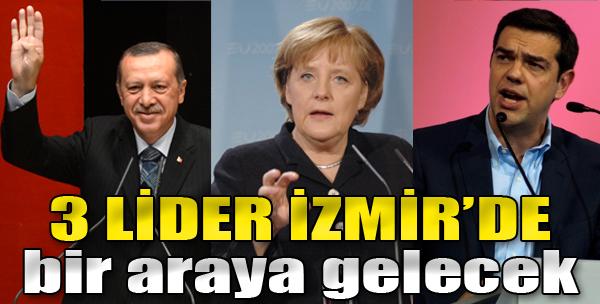3 Lider İzmir'de Bir Araya Gelecek