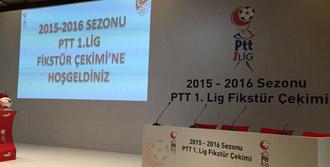 PTT Birinci Ligde Fikstür Belirlendi