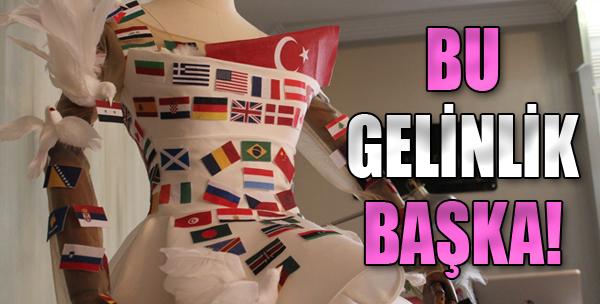 IF Wedding Fashion İzmir'e Özel 'Barış' Gelinliği