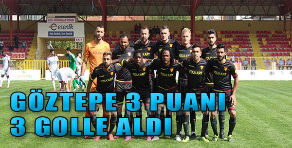 Yeni Malatyaspor:1-Göztepe:3