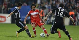 Beşiktaş:1 - MP Antalyaspor: 0