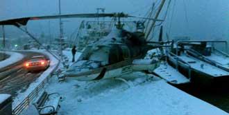 Helikopterden Mucize İniş