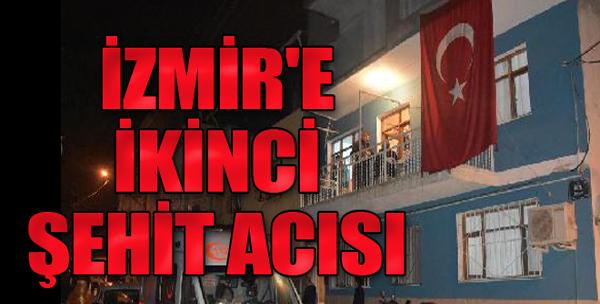 İzmir'e İkinci Şehit Acısı