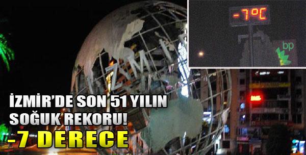 İzmir Donuyor!