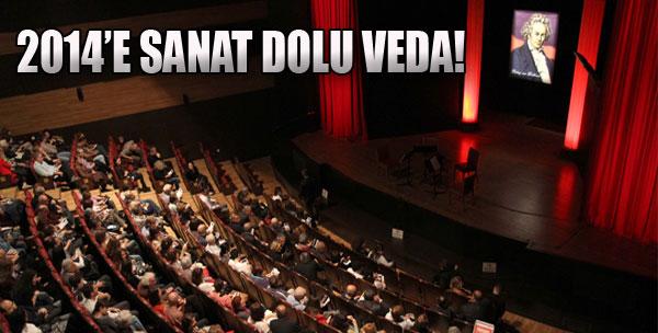 2014'e Sanat Dolu Veda