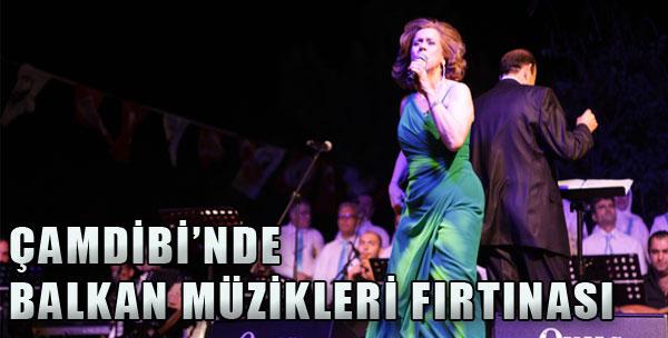 Çamdibi'nde Balkan Müzikleri Fırtınası