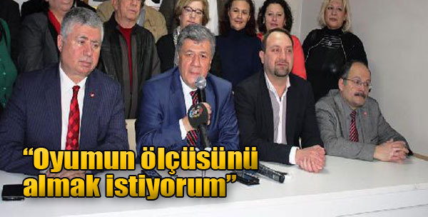 İkinci Dönem İçin İzmir'de Ön Seçime Giriyor