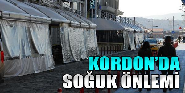 Kordon'da Soğuk Önlemi