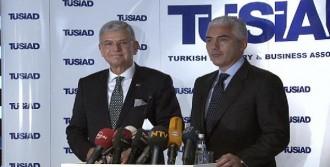 Bakan Bozkır'dan TÜSİD'a Ziyaret