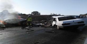 Balıkesir'de Kaza, 1 Ölü 2 Yaralı