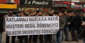'Katlamalı Harç' Protestosu