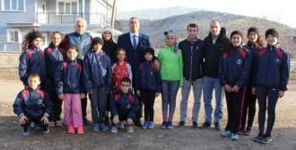 Köyünde Yeni Sporcular Yetiştiriyor