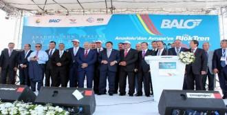 Balo Projesi'nin İlk Trenini Yıldırım Uğurladı