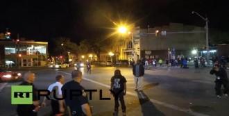 Baltimore Polisinden Protestocu Gence Sert Müdahale