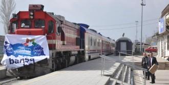 'Barış Treni' Kırıkkale Garı'nda