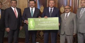 Erdoğan, TOBB Heyetiyle Görüştü