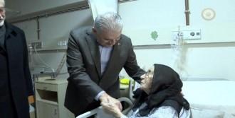 Yıldırım'dan Hastane Ziyareti
