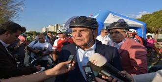 Başkanlar İzmir İçin Pedal Çevirdi