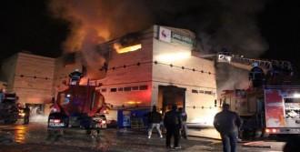 Batman'da Fabrika Yangını