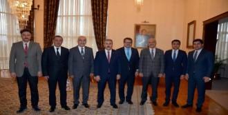 Azerbaycan Büyükelçisi İbrahim'i Ziyaret Etti