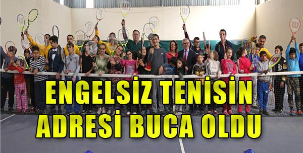 Engelli Çocuklar Tenis Kortlarında Buluşuyor