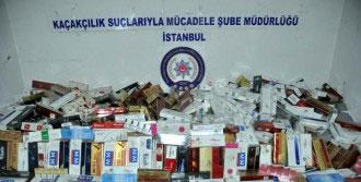 150 Bin Paket Kaçak Sigara Ele Geçti