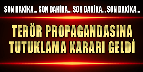 Terör Propagandası, Tutuklama Getirdi