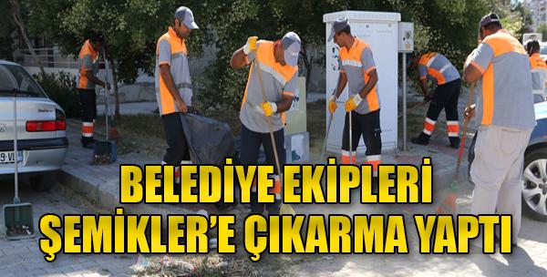 Karşıyaka'da Temizlik Harekatı