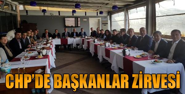 CHP'de Başkanlar Zirvesi