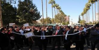 Beden Öğretmenleri Protesto Etti