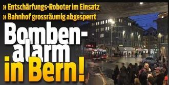 Bern Tren İstasyonunda Bomba Alarmı