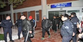 Eskişehir'de Meşaleli Karşılama