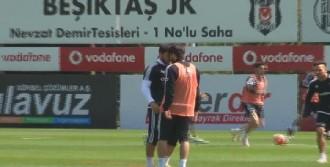 Beşiktaş'ın İdmanında Gerginlik