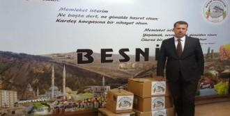 Besni'den,  Asker ve Polislere Üzüm Gönderildi