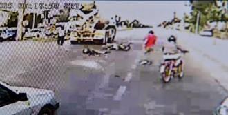 Beton Mikseri Motosiklet Sürücüsünü Ezdi