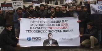 Beyazıt'ta Yılbaşı Protestosu
